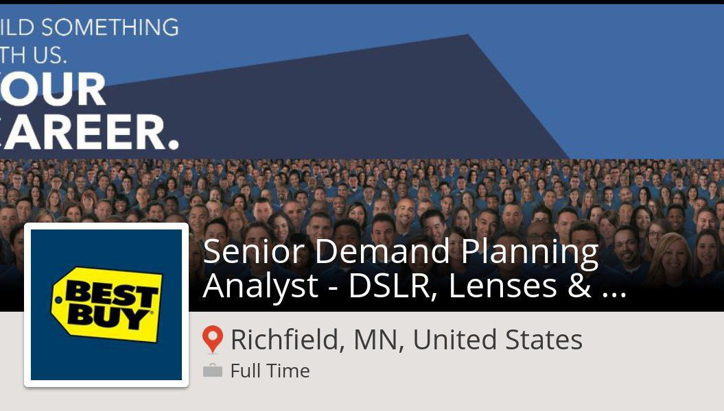 "Abbey Reinke on Twitter: ""#BestBuy: Senior Demand Planning ..."