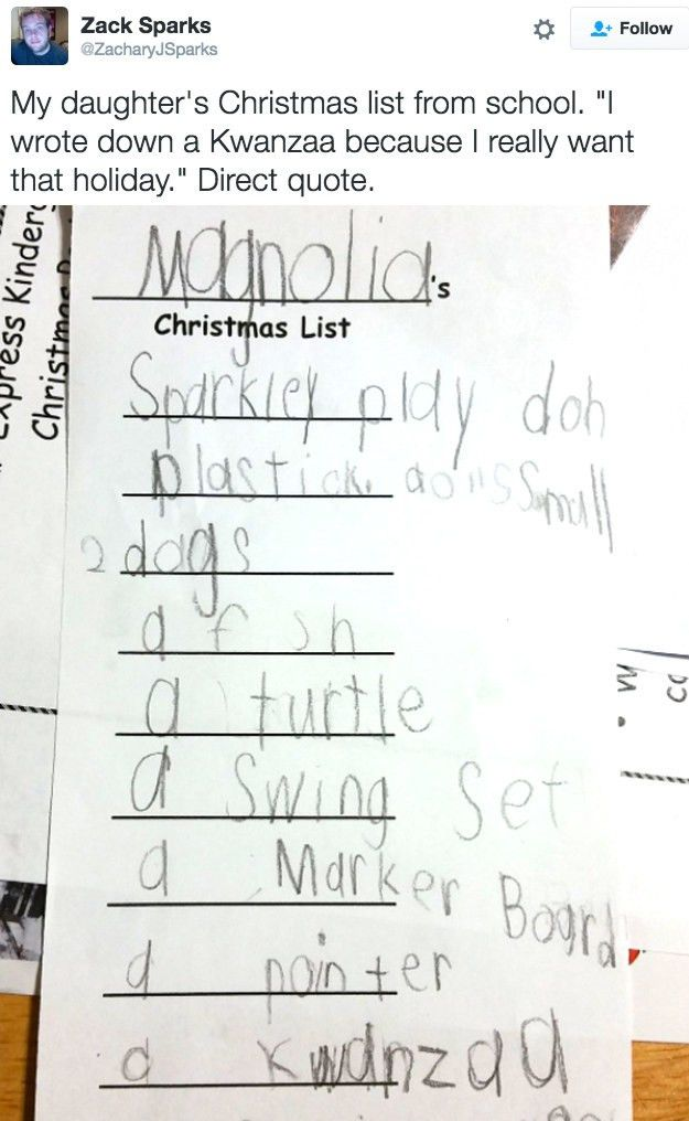 21 Kids Who Know Exactly What They Want For Christmas