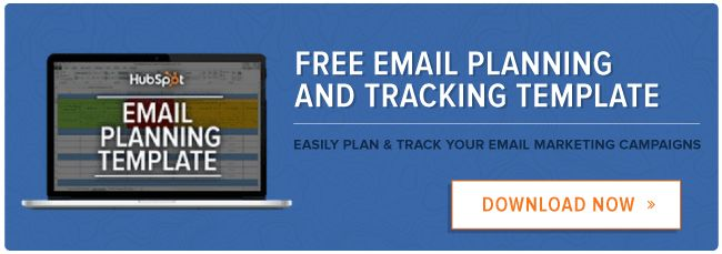 How to Easily Plan & Track Your Email Marketing Campaigns [Free ...