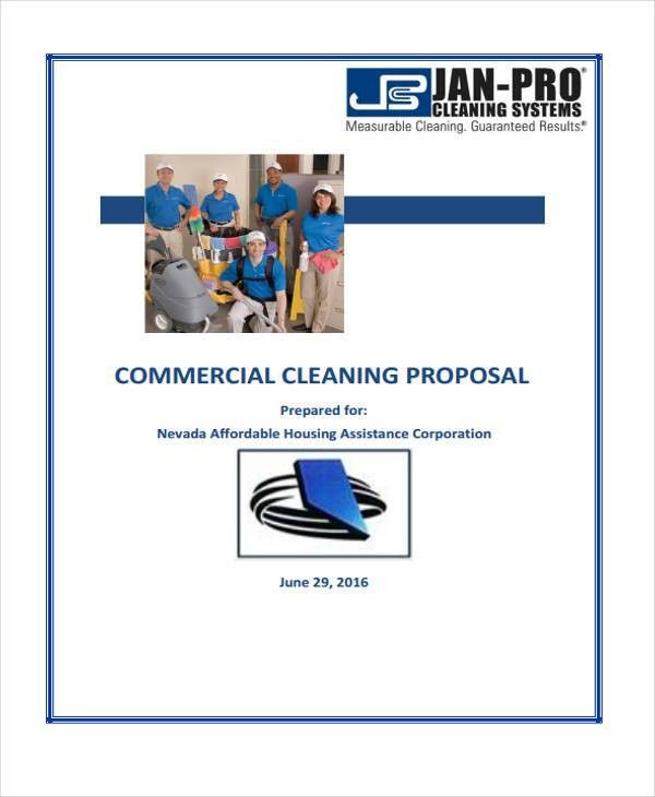 5+ Cleaning Business Proposal Templates - Free Word, PDF Format ...