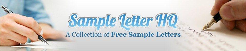 Sample Cover Letter for Internal Position – Sample Letter HQ
