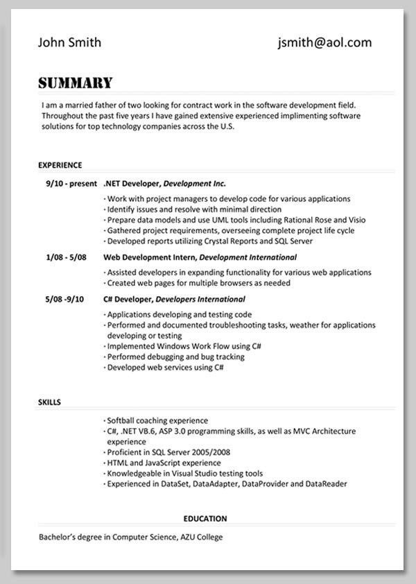 Computer Skills To Put On Resume | Template Design
