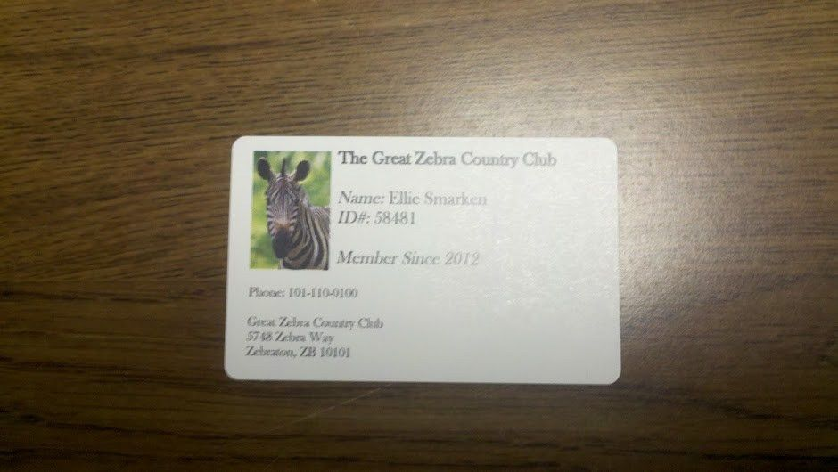 How To Make Your Own Membership Cards with a Welcome Letter ...