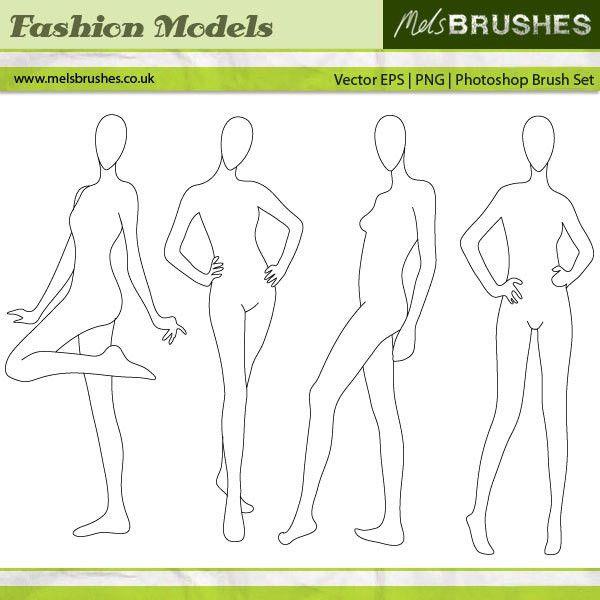 Fashion Illustration Models by melemel.deviantart.com | BRUSH ...
