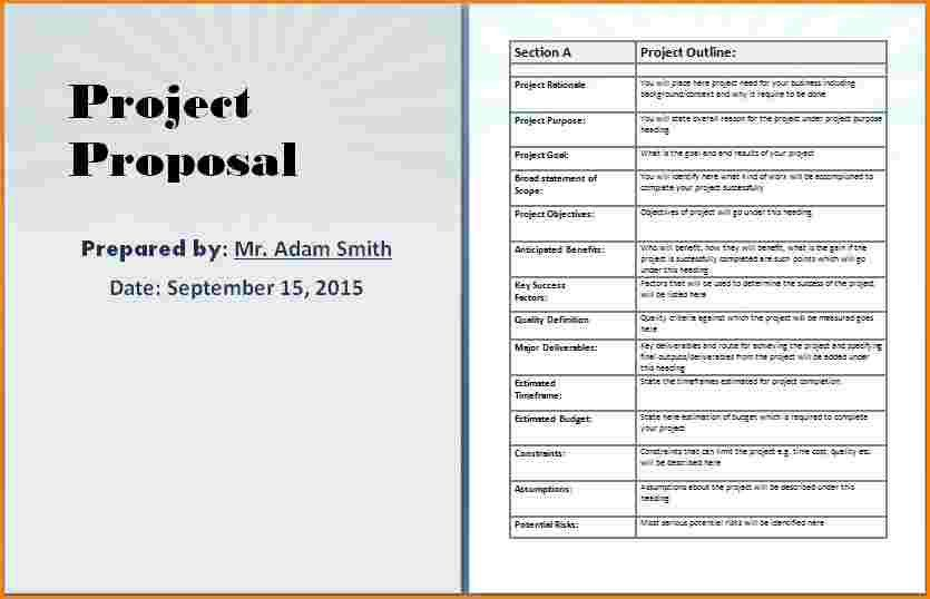 10+ business proposal template microsoft word | worker resume
