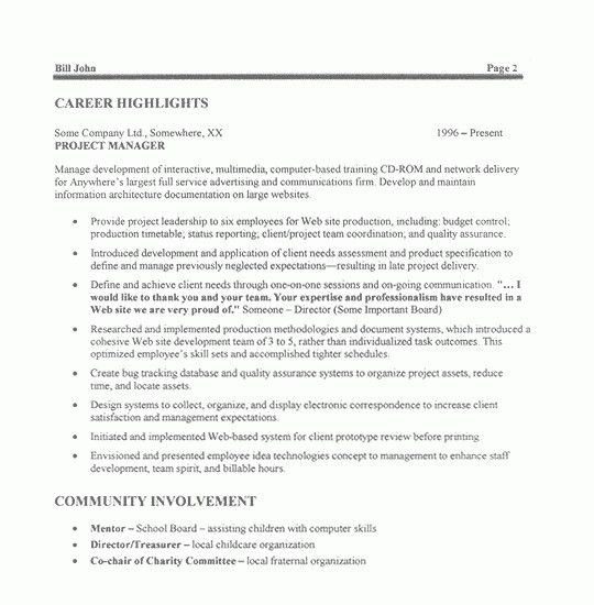 sample resume for management sample resume for operations supply ...