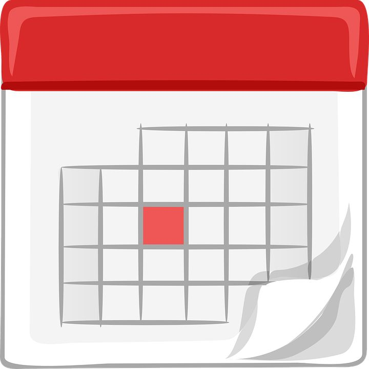 Free vector graphic: Calendar, Monthly, Office, Schedule - Free ...