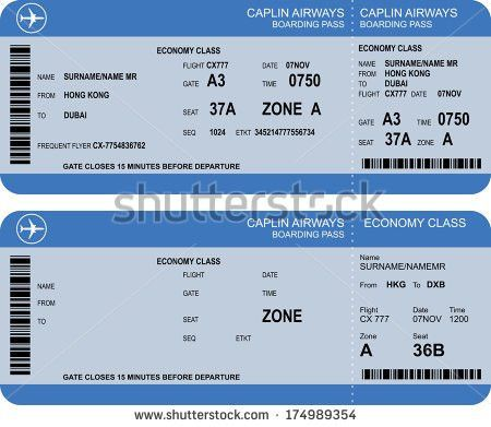 Airline Ticket Stock Images, Royalty-Free Images & Vectors ...