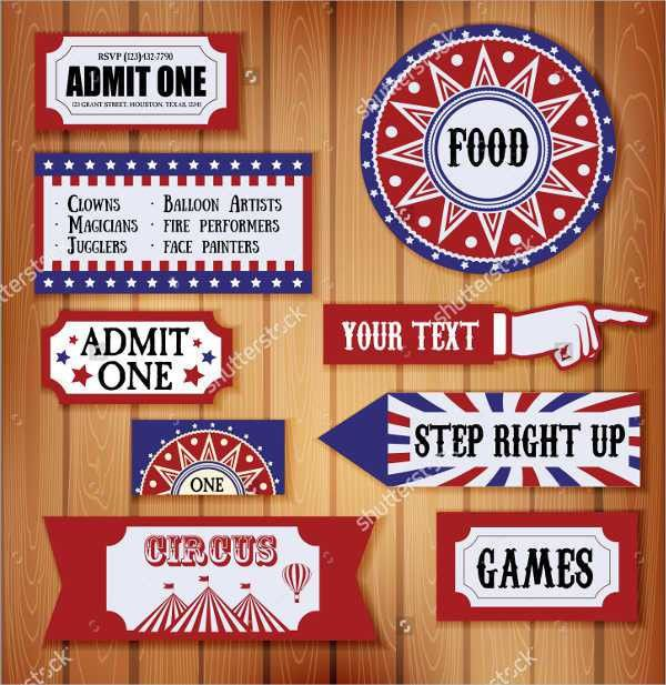 8+ Carnival Ticket Templates - Free PSD, AI, Vector EPS Format ...