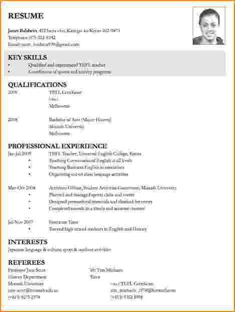 6+ how to write a job resume | bibliography format
