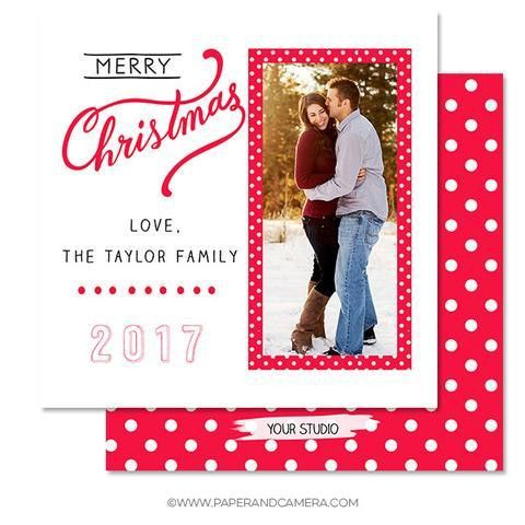 Holiday Card Templates | Paper and Camera