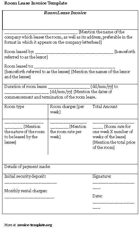 13 Best Images of Room Lease Agreement Template - Simple Room ...