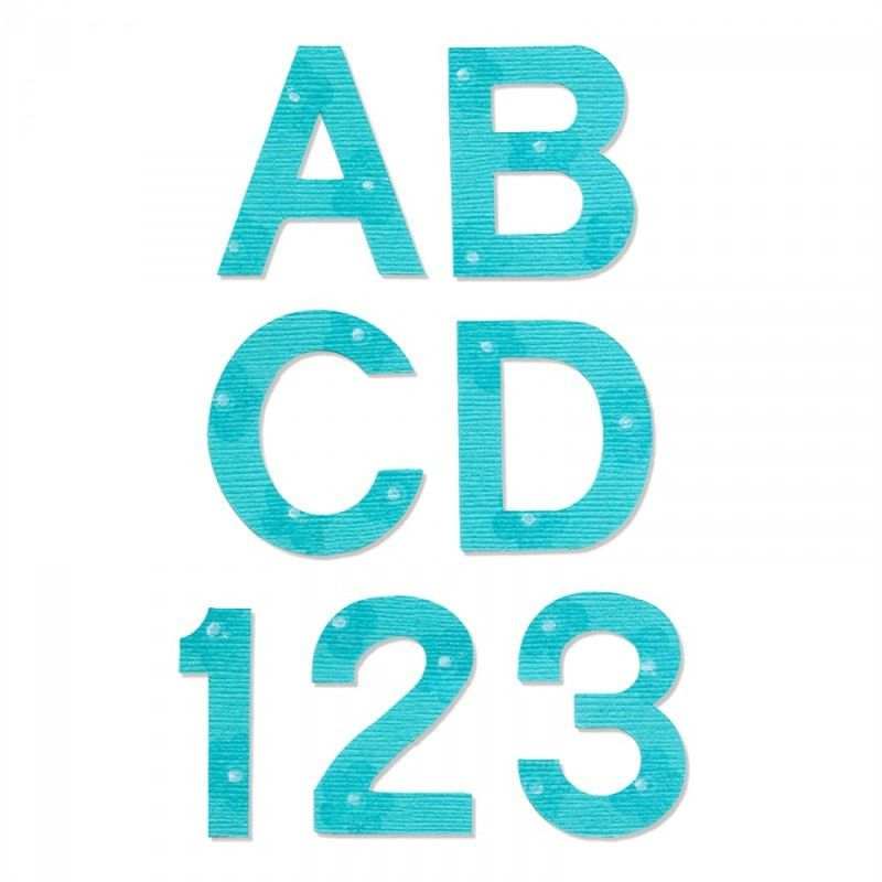 "Ellison AllStar Die Set - Block 1 1/2"" Uppercase Letters ..."