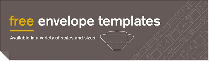 Envelope Templates: Popular Cuts & Styles | Neenah Paper
