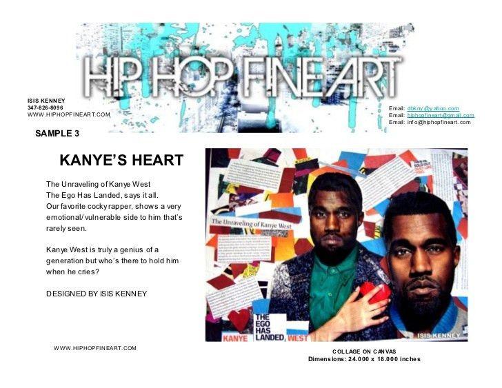 HIP HOP FINE ART SUBMISSION