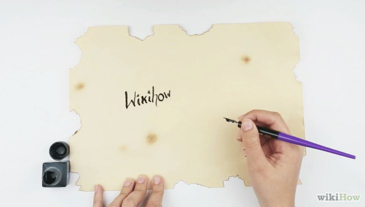 How to Make a Paper Scroll: 13 Steps (with Pictures) - wikiHow
