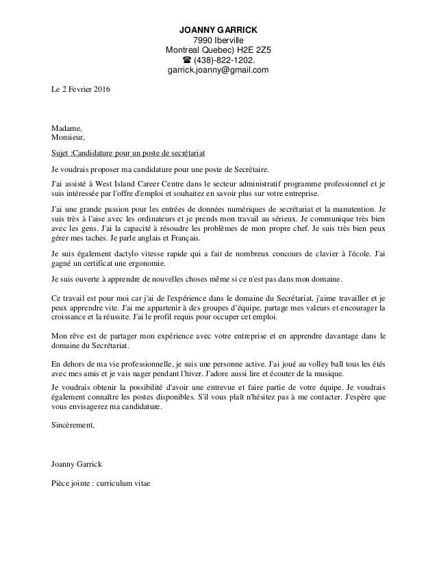 Amazing French Cover Letter Format 63 About Remodel Examples Of ...