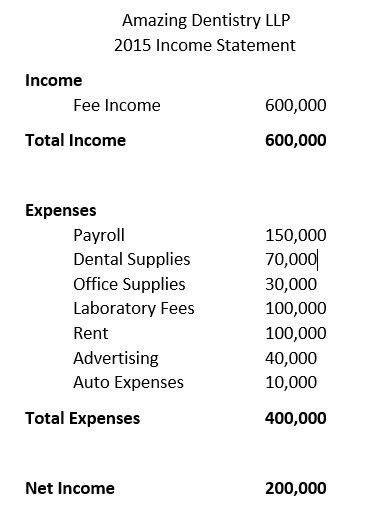 The Profit and Loss Statement   The Curious Dentist