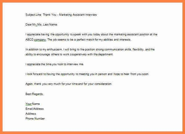 8+ thank you job interview email | Invoice Example 2017