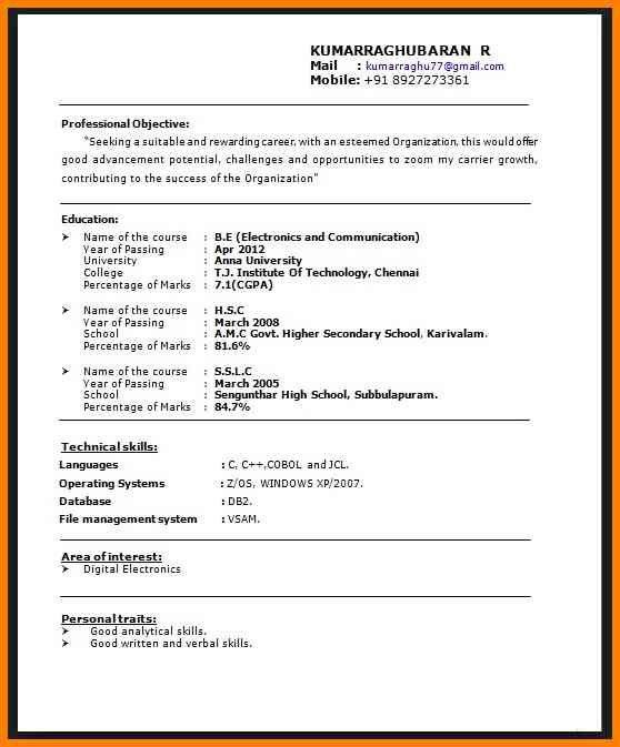 6+ cv title example | cashier resumes