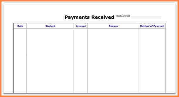 8+ payment spreadsheet template | Excel Spreadsheets Group