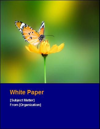 White Paper Template. white paper writing. how to write a good ...