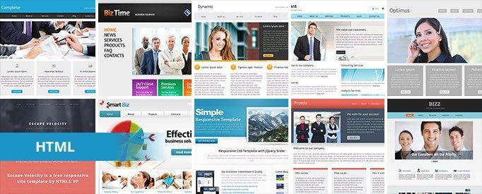 62 Free Business HTML Website Templates | TemplateMag