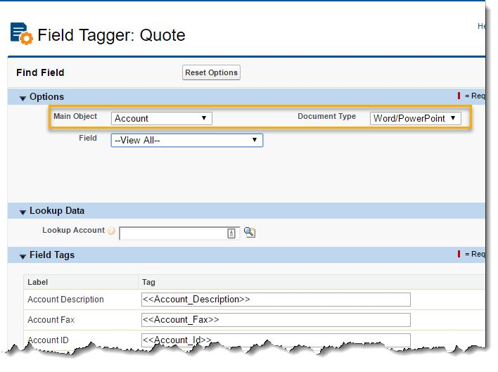 Use the Field Tagger to create tags in templates