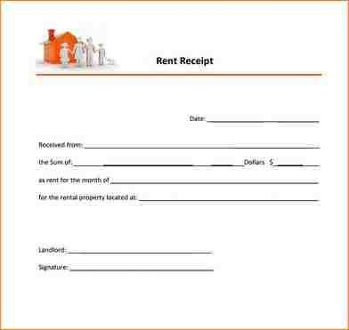 7+ printable rent receipt | academic resume template