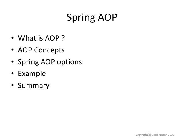Introduction to spring