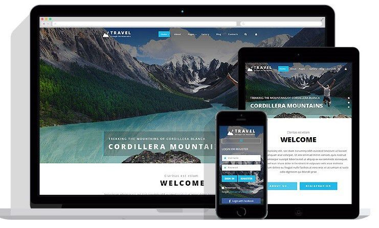 Travel agency Joomla templates collection - premium & free ...