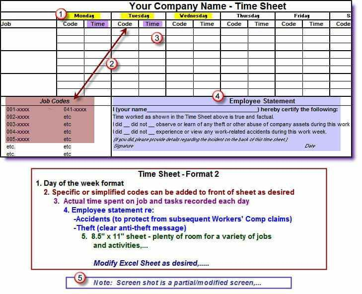 Timesheets for Construction Companies (English-only Version ...