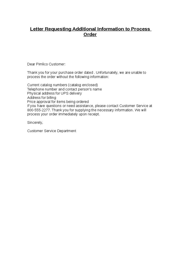 Free Sample Letter Requesting Documents | Resume Templates ...