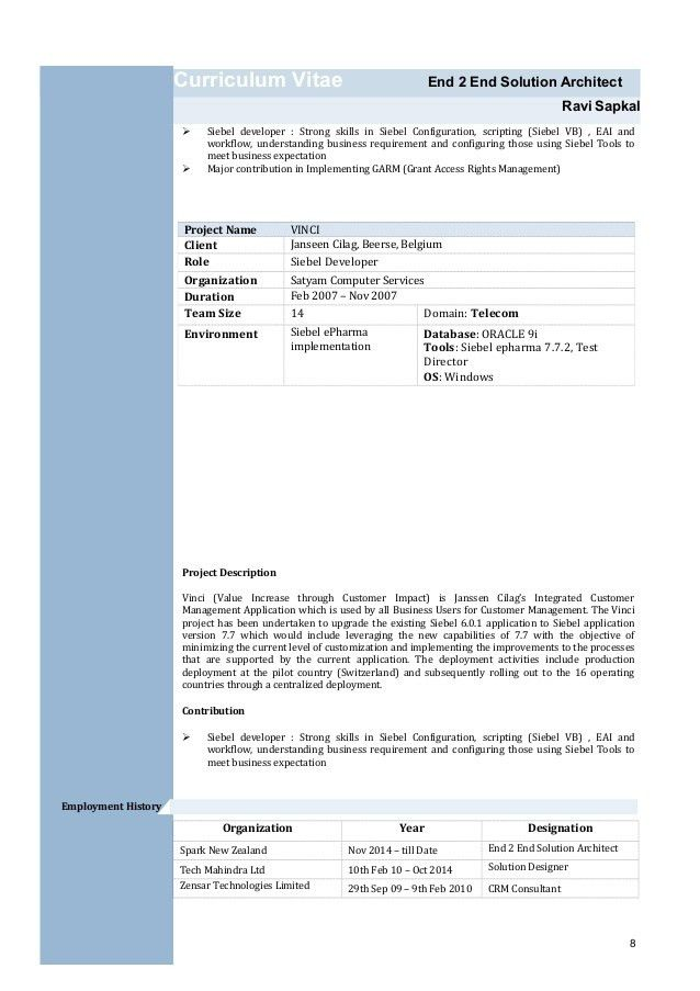 Ravi Sapkal Resume