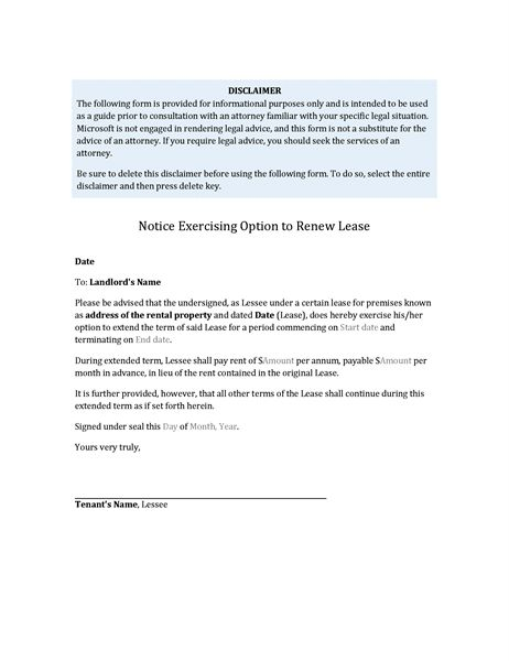 nonrenewal of contract letter sample sample letter to inform end ...