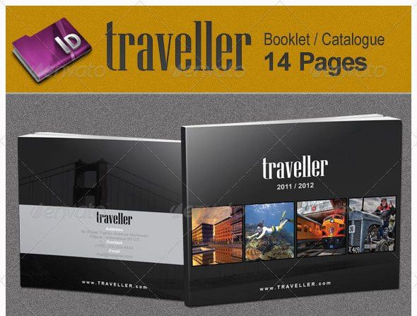12 High Quality Travel & Tourism Brochure Templates | Wakaboom