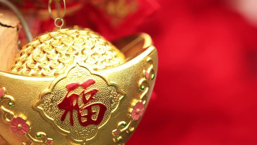 Chinese Red Fake Firecrackers:words Mean Best Wishes And Good Luck ...