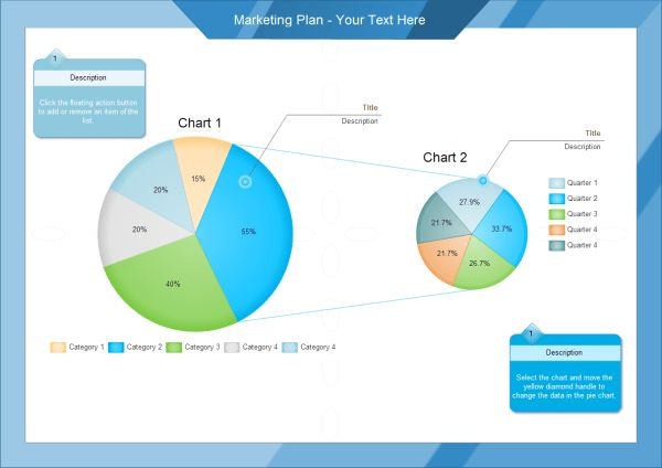Pie Chart Templates for PowerPoint