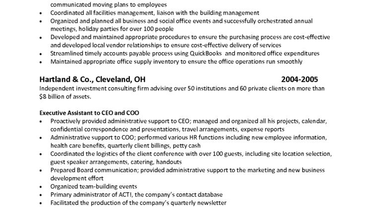 Assistant Office Manager Resume Sample Resume Format Hedge Fund ...