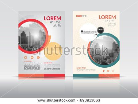 Cover Design Annual Report Cover Flyer Stock Vector 685522354 ...