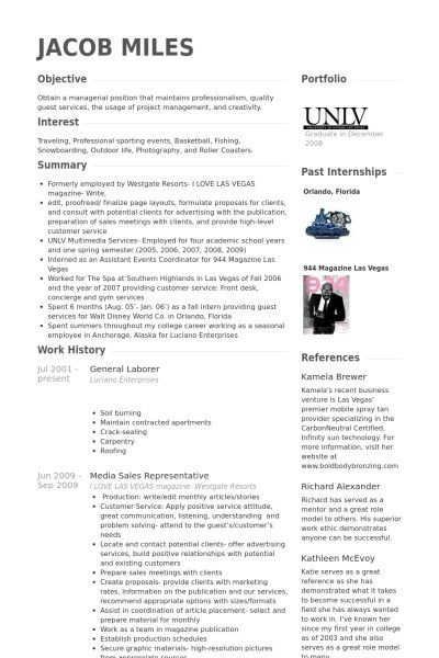 Sample Resume Objective General Labor - Templates
