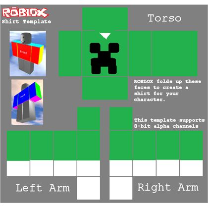 How to make shirts and pants roblox wiki transparent roblox shirt or pants template roblox pronofoot35fo Gallery