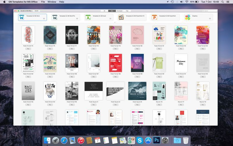 GN Templates for MS Office on the Mac App Store