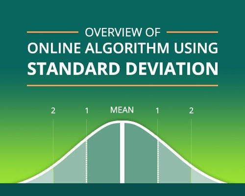 Overview of 'online' algorithm using Standard Deviation