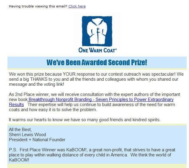 Nonprofit Thank You Letters - 3 I Love - Kivi's Nonprofit ...
