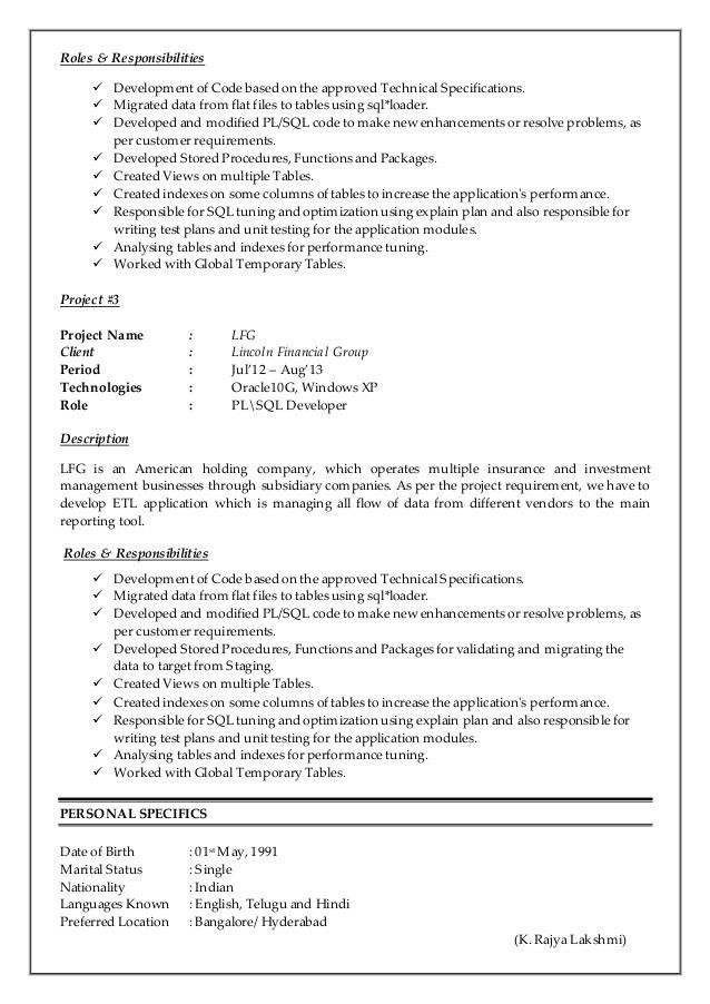dba resume resume samples for sql server dba resume krishnakumar ...