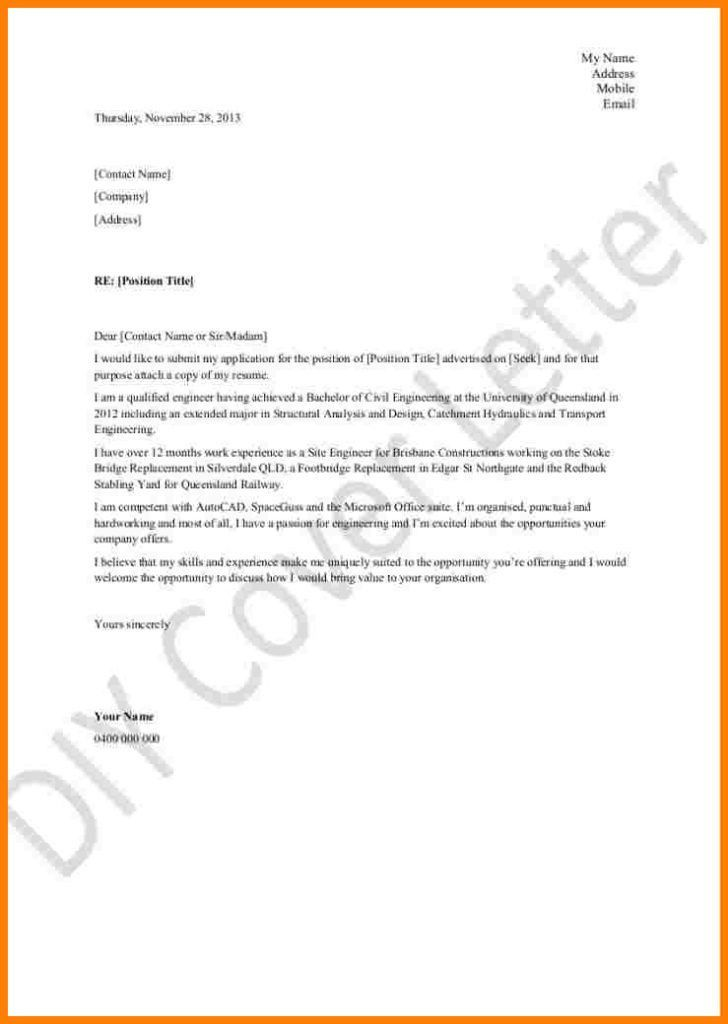 microsoft word template cover letters