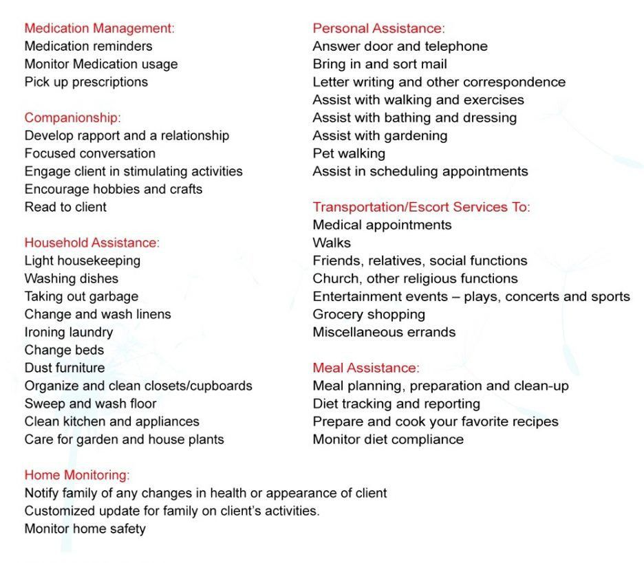 Duties Of A Certified Nursing Assistant Resume Ideas Home Health ...