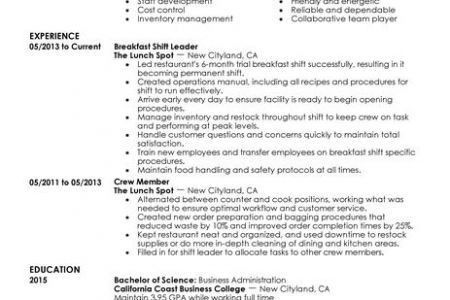 Shift Manager Cover Letter Examples, Shift Manager Cover Letter ...
