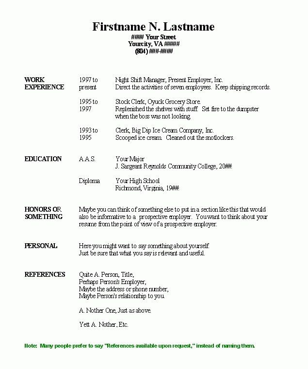 What Is Reverse Chronological Order Resume #7515